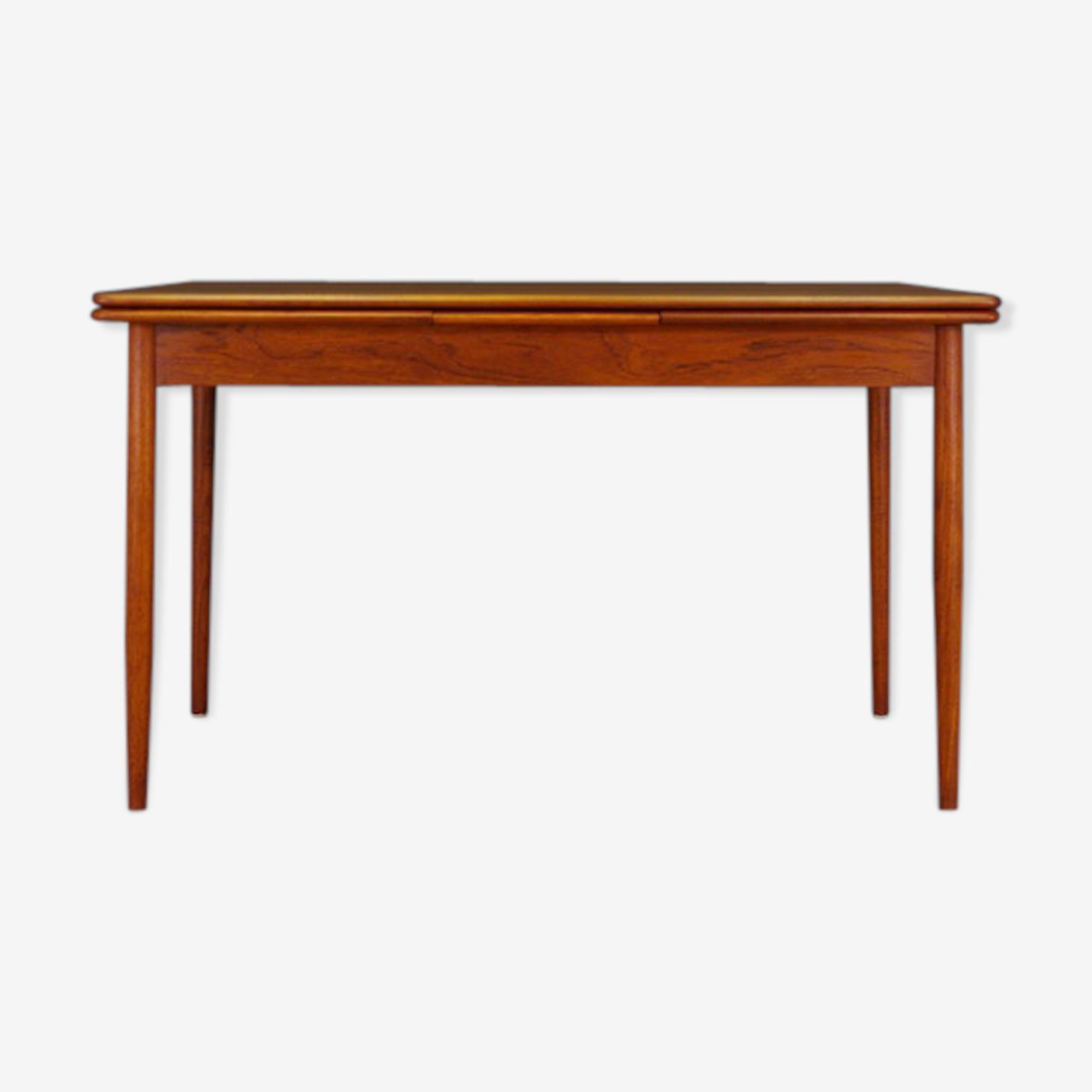 Table en teck, design danois classique, 60/70's