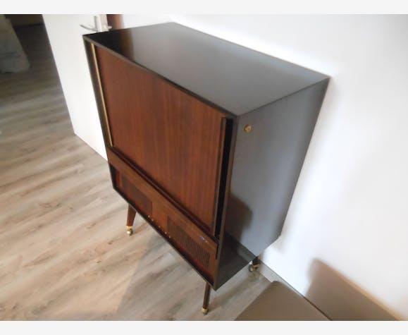 Sublime Et Chic Le Meuble Tv Philips Vintage Luxe Acajou Bois