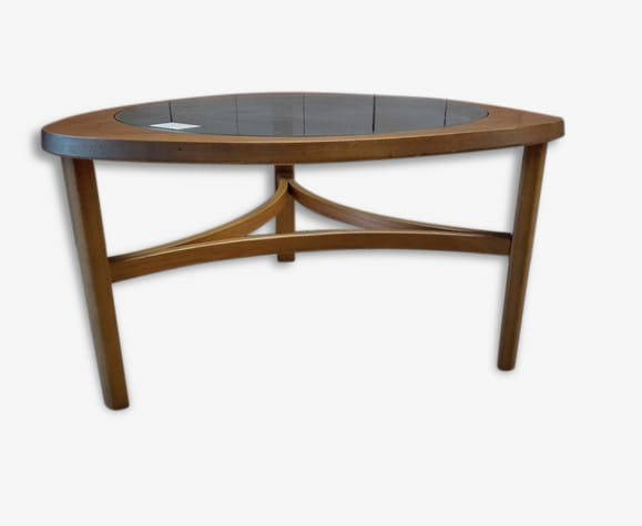 Table Basse Triangulaire Vintage Nathan Style Scandinave
