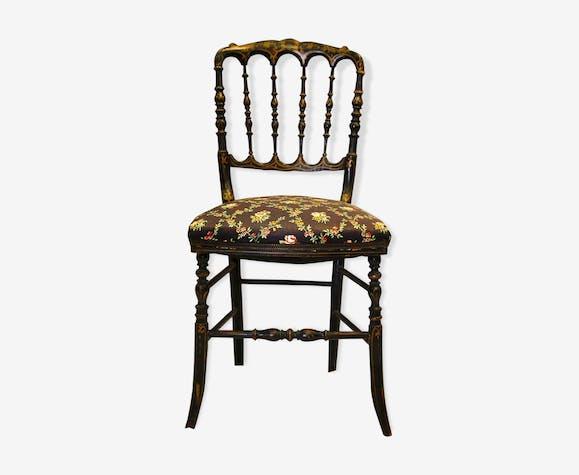 Chaise D époque Napoléon Iii Xixe Siècle Bois Matériau