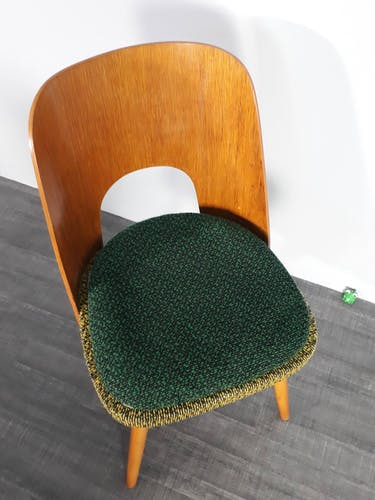Set 4 chaises en hêtre Jirak Mid-Century Tchécoslovaque 1960s