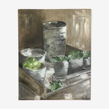 Tableau peinture  acrylique sur toile