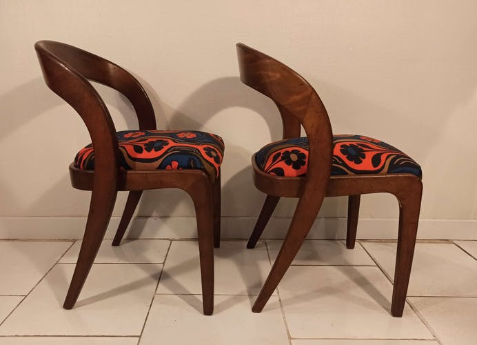 4 chaises Baumann Gondole