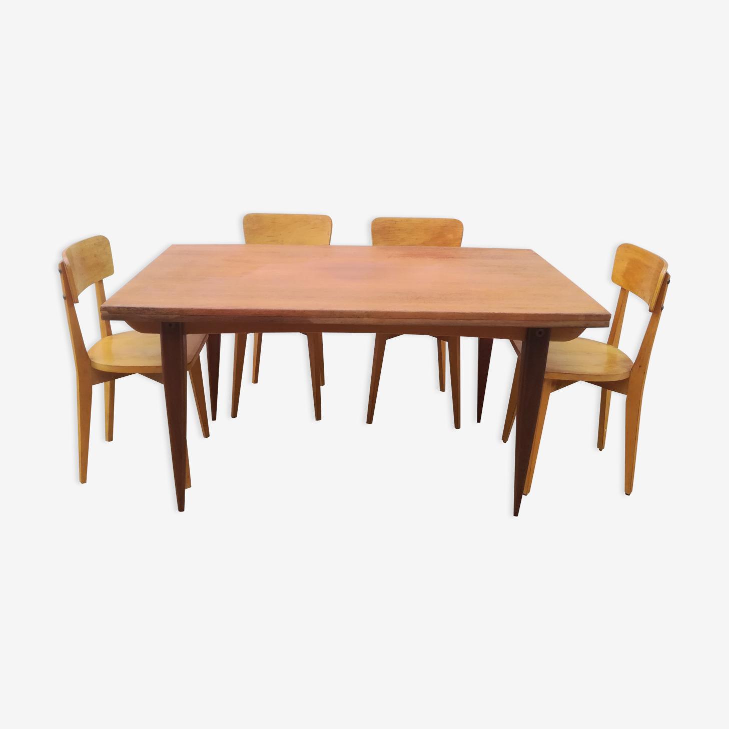 Table De Salle A Manger Vintage D Occasion