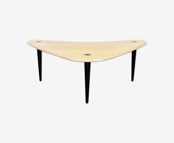 Phenomenal Boomerang Coffee Table Wood Wooden Vintage Co7Eb1E Evergreenethics Interior Chair Design Evergreenethicsorg