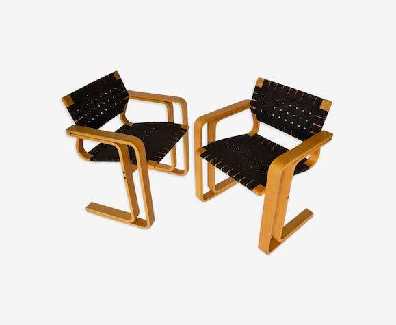 Paire de fauteuils 5531 par Rud Thygesen & Johnny Sørensen pour Magnus Olesen, années 1950