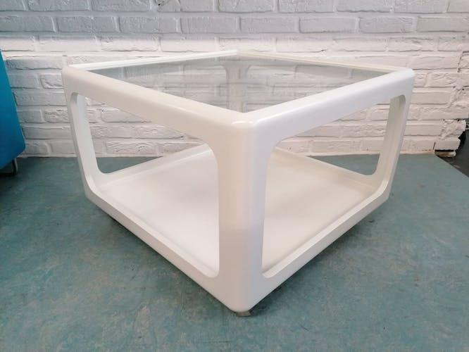 Table basse Horn Vollection en verre Peter Ghyczy 1960