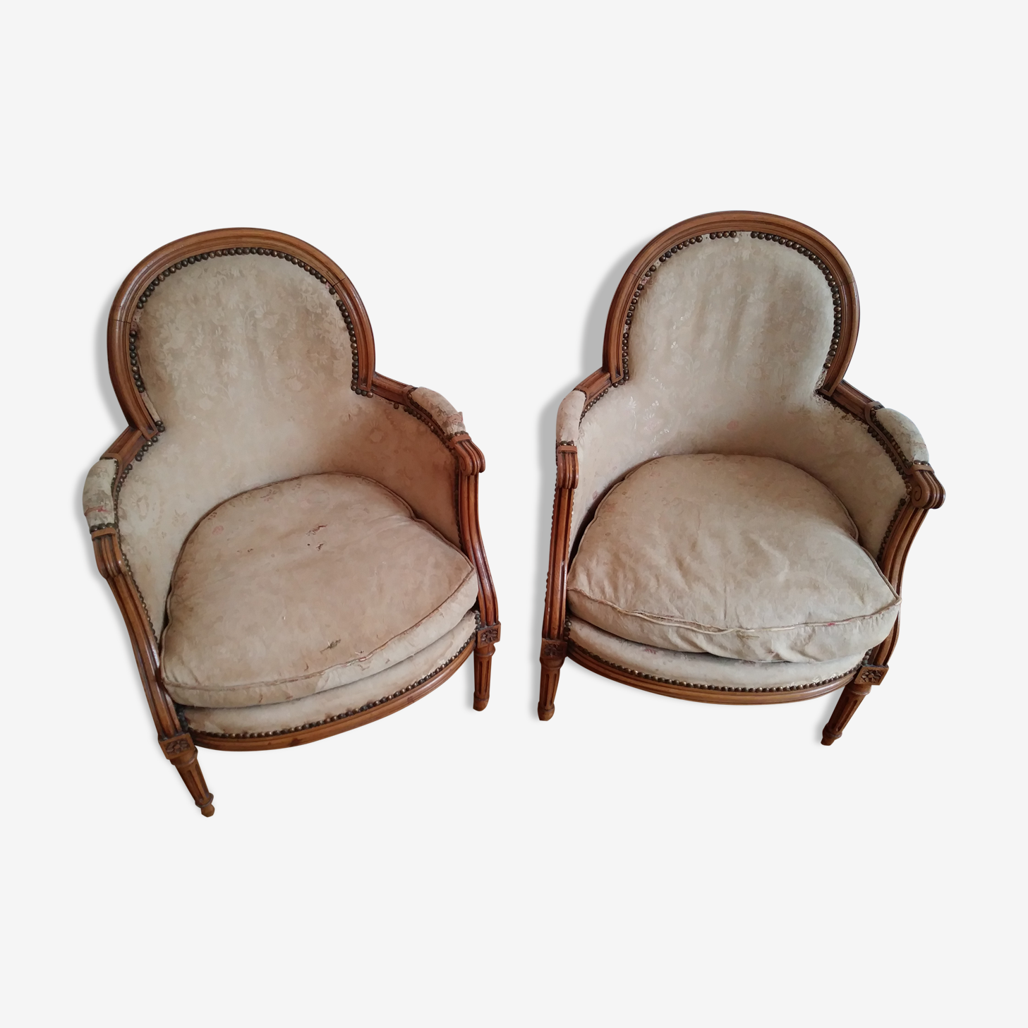 Pair of Louis XVI shepherdesses