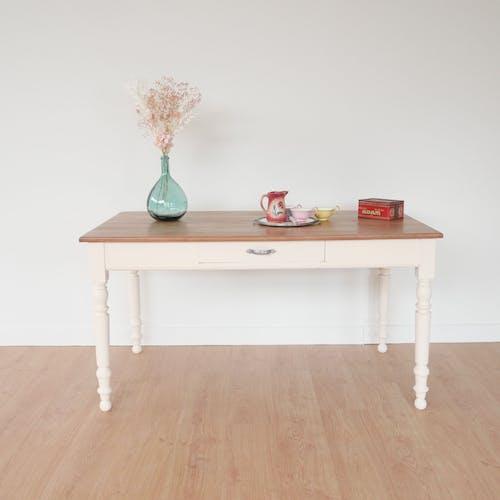 Table à manger ancienne restaurée