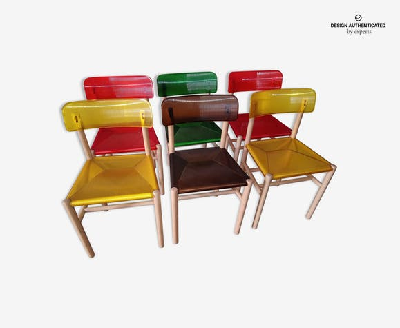 Trattoria Chairs By Jasper Morrison For Magis
