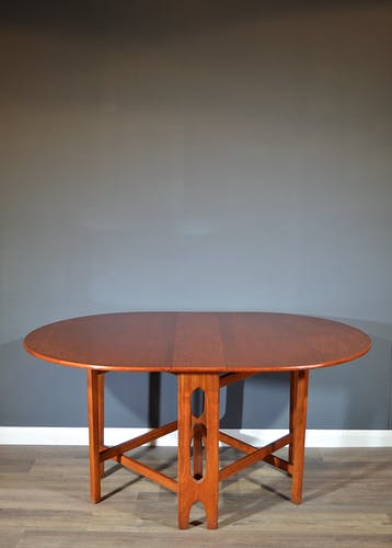 Table en teck McIntosh vintage style danois