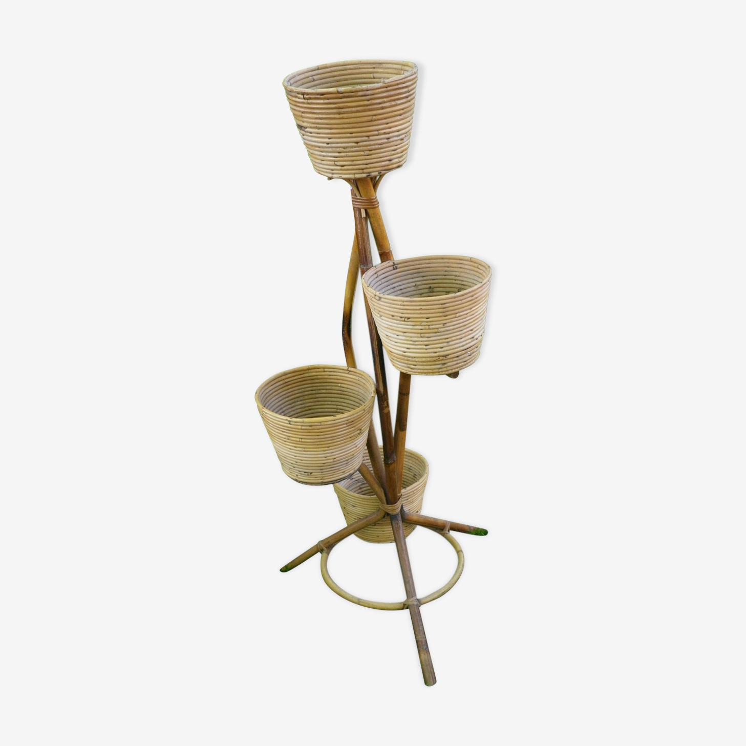 Plant rack bamboo