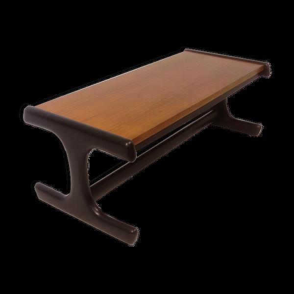Table basse design bicolore scandinave