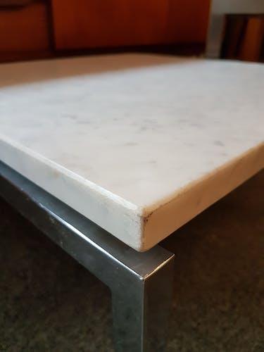 Table basse en marbre