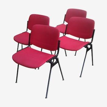 Lot de 4 chaises Castelli