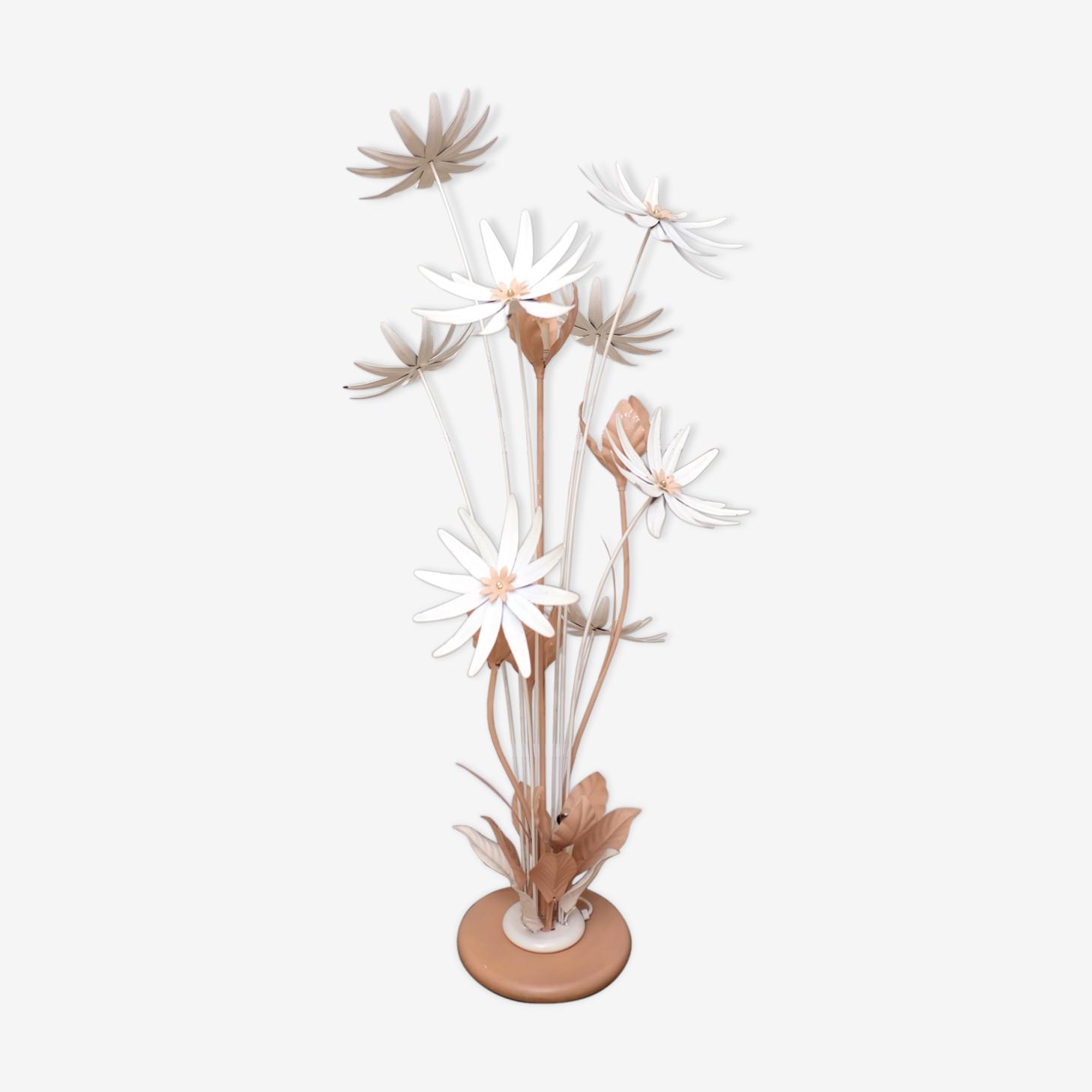 Lampadaire floral français, années 50