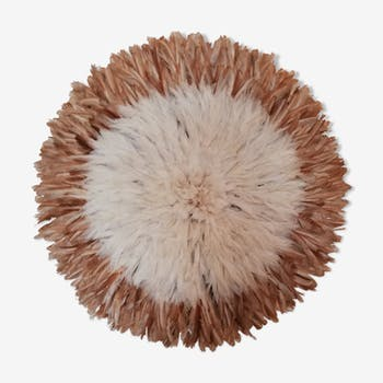 Authentic juju hat white and natural 80cm