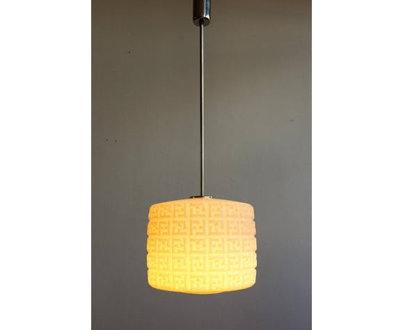 Vintage Czechoslovak Hanging Lamp, 1960s