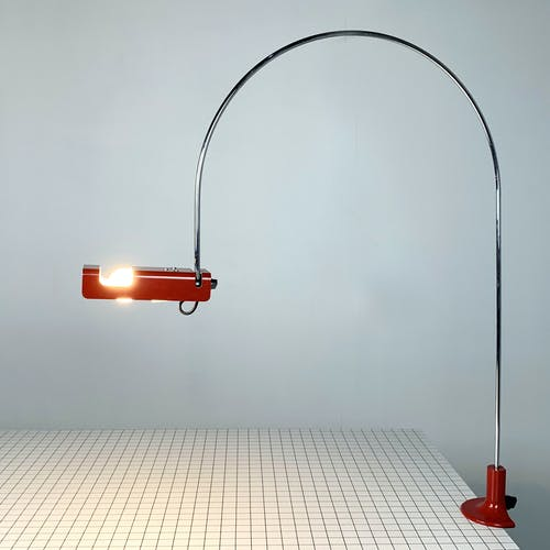 Lampe de table 'Spider' par Joe Colombo pour Oluce, 1960