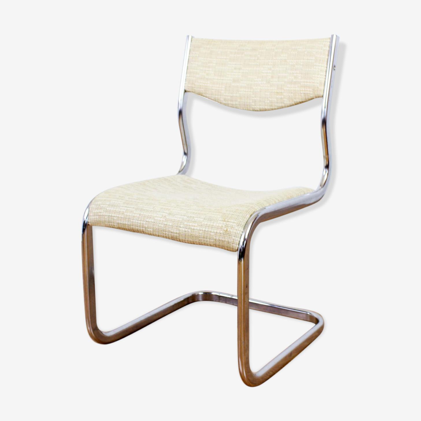 Chaise Bauhaus en tissu