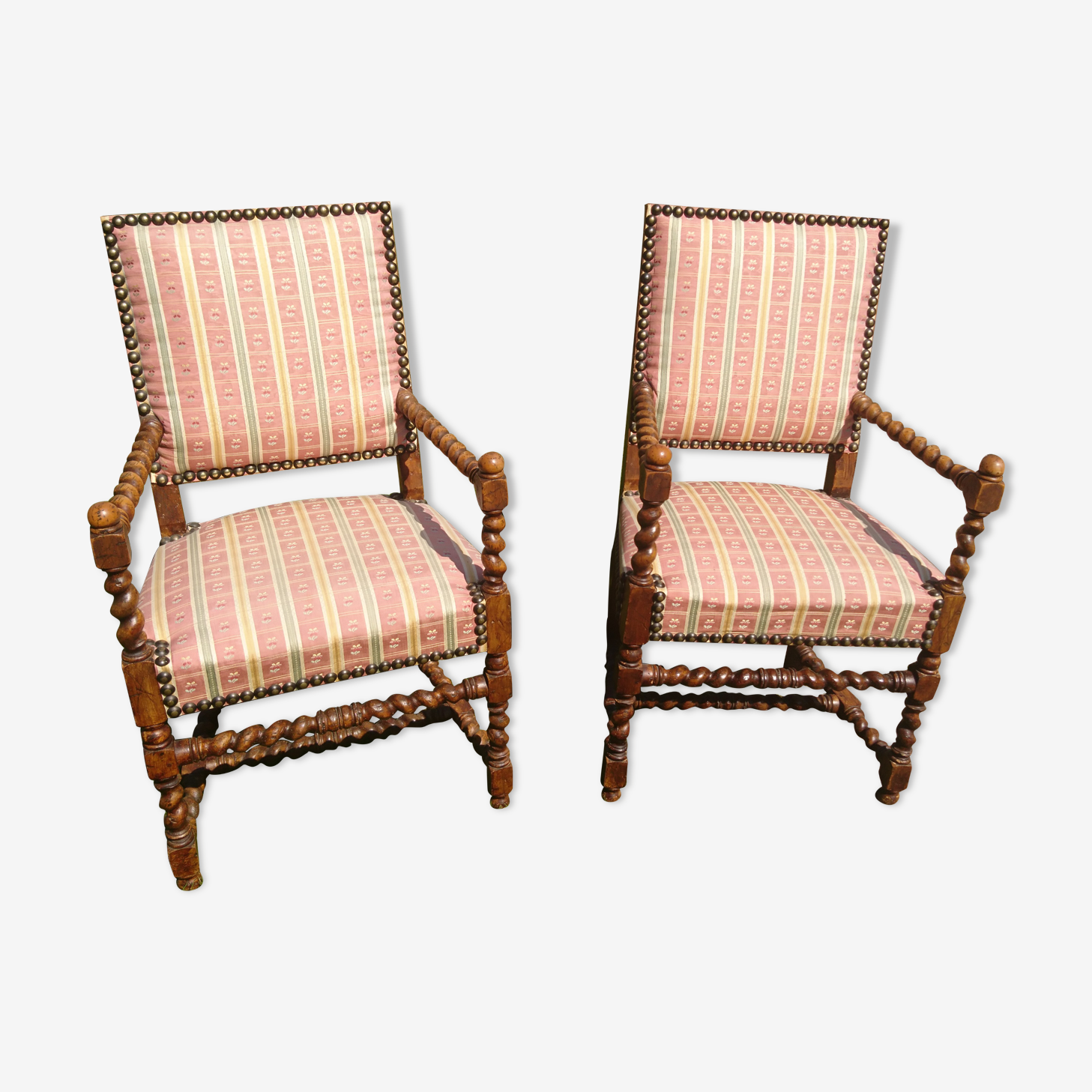 Pair of Louis XIII chairs