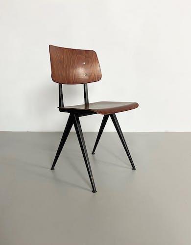 Ensemble de 4 chaises Galvanitas S16, Pays-Bas