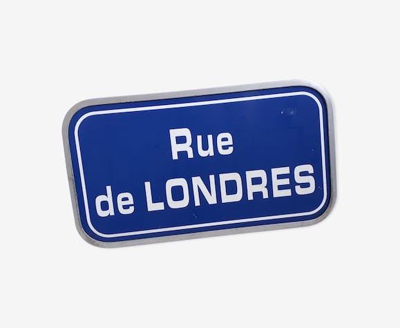 """Panneau """"rue de Londres"""""""
