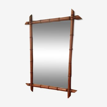 Bamboo mirror 67x91cm