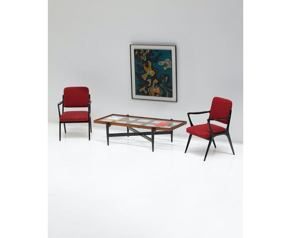 Table basse des années 1950