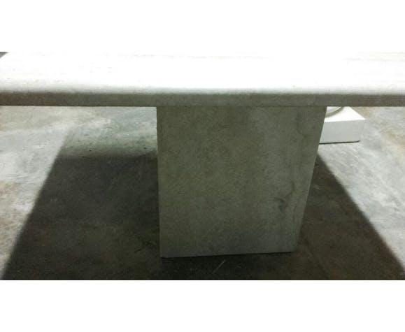 Table basse en travertin