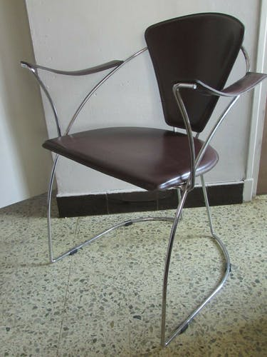 Authenique chaise Arrben Italy, design 70