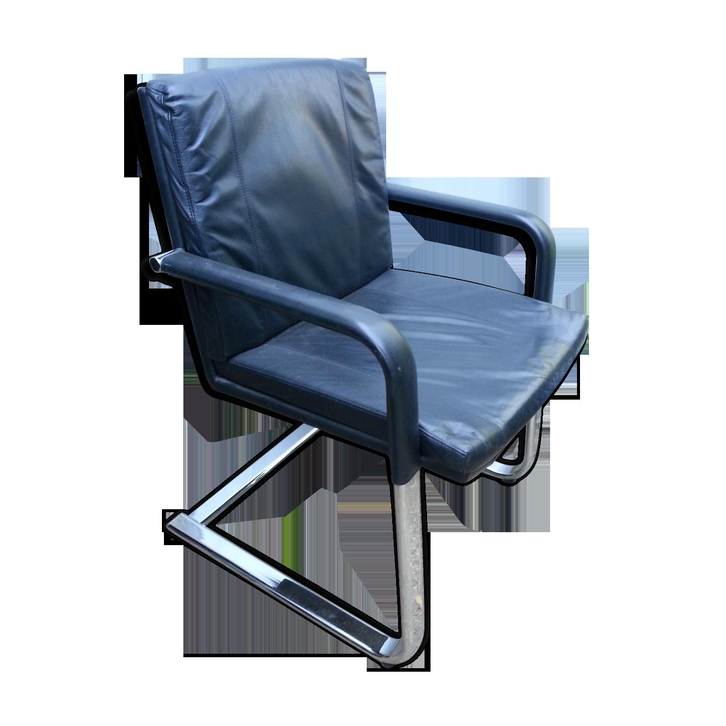 Fauteuil de bureau noir chaise de bureau design réglable design
