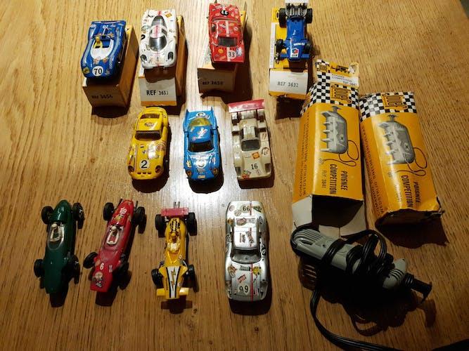 Circuit de voitures jouef record 64