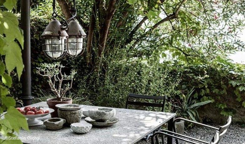 Luminaire de jardin vintage d\'occasion