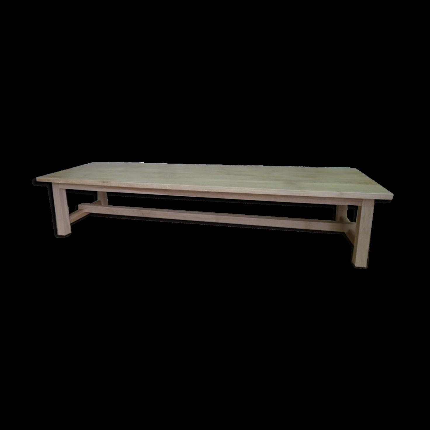 table de campagne en chene massif meuble tv ecran plat portes et niche campagne with table de. Black Bedroom Furniture Sets. Home Design Ideas