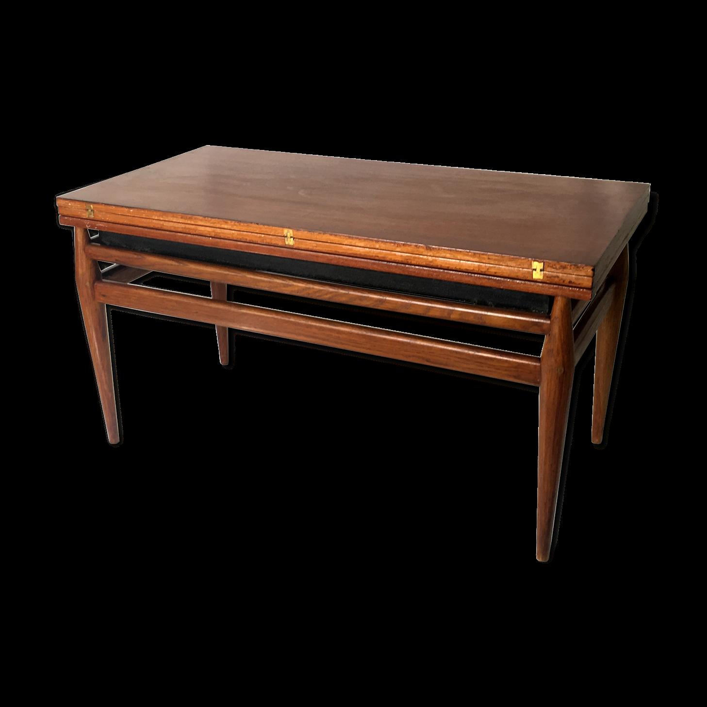 Table Basse Convertible Vintage Des Années 60