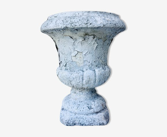 Cement Medici vase, 40cm high