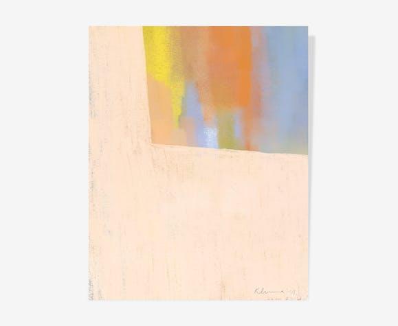 Sunset Chalk — 40 x 50 cm