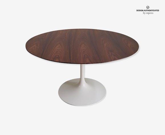 Table rosewood 137 cm Eero Saarinen Tulip Knoll International - 1970