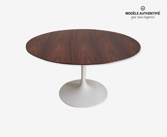 Table Tulipe Knoll International en palissandre 137 cm Eero Saarinen – 1970