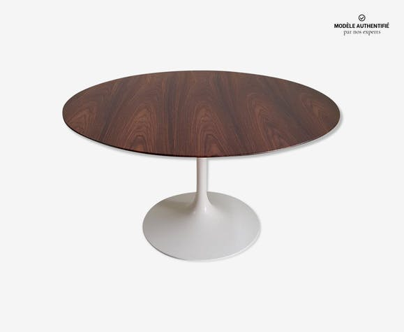 Table Tulipe Knoll International en palissandre 137 cm Eero Saarinen – 1970