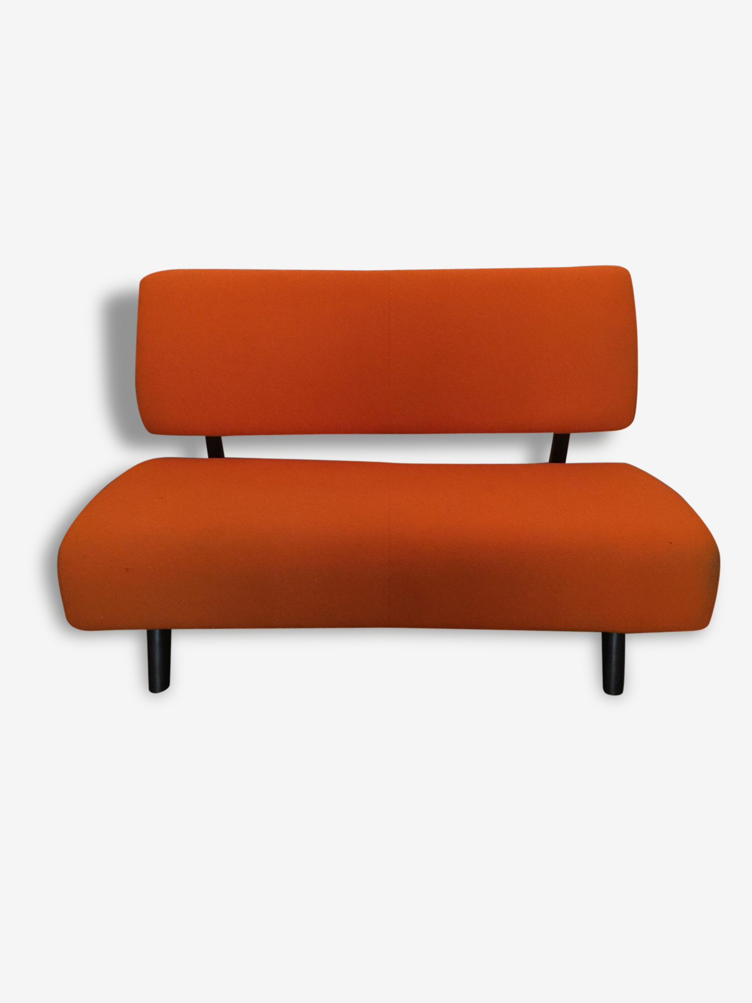 Canapé Sentou canapé orange galerie sentou - bois (matériau) - orange - design