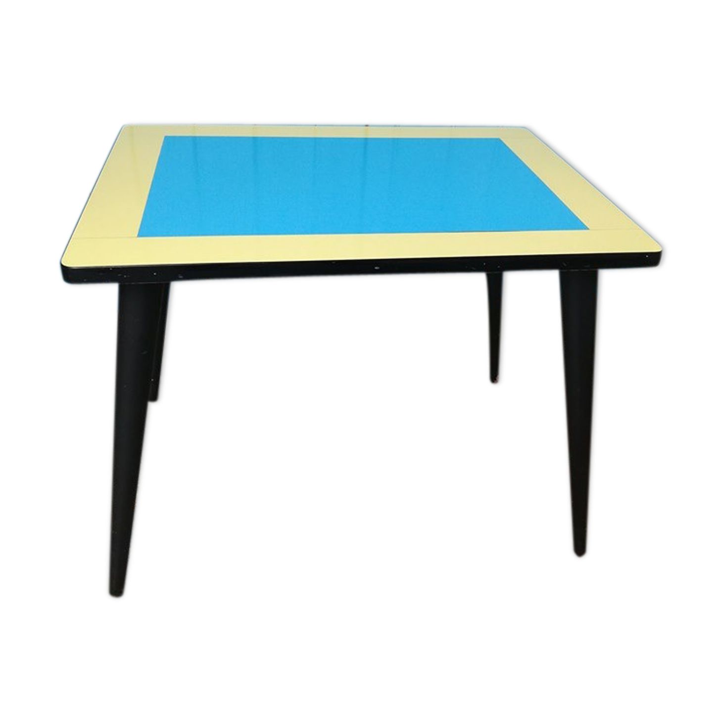 table pliante formica great table pliante en formica vintage annees with table pliante formica. Black Bedroom Furniture Sets. Home Design Ideas