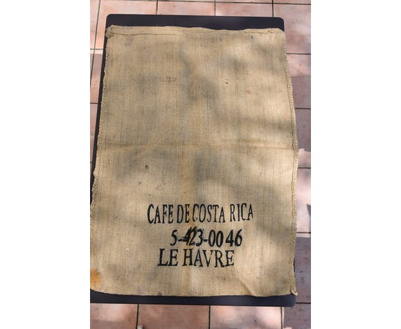 Jute bag Costa Rica coffee