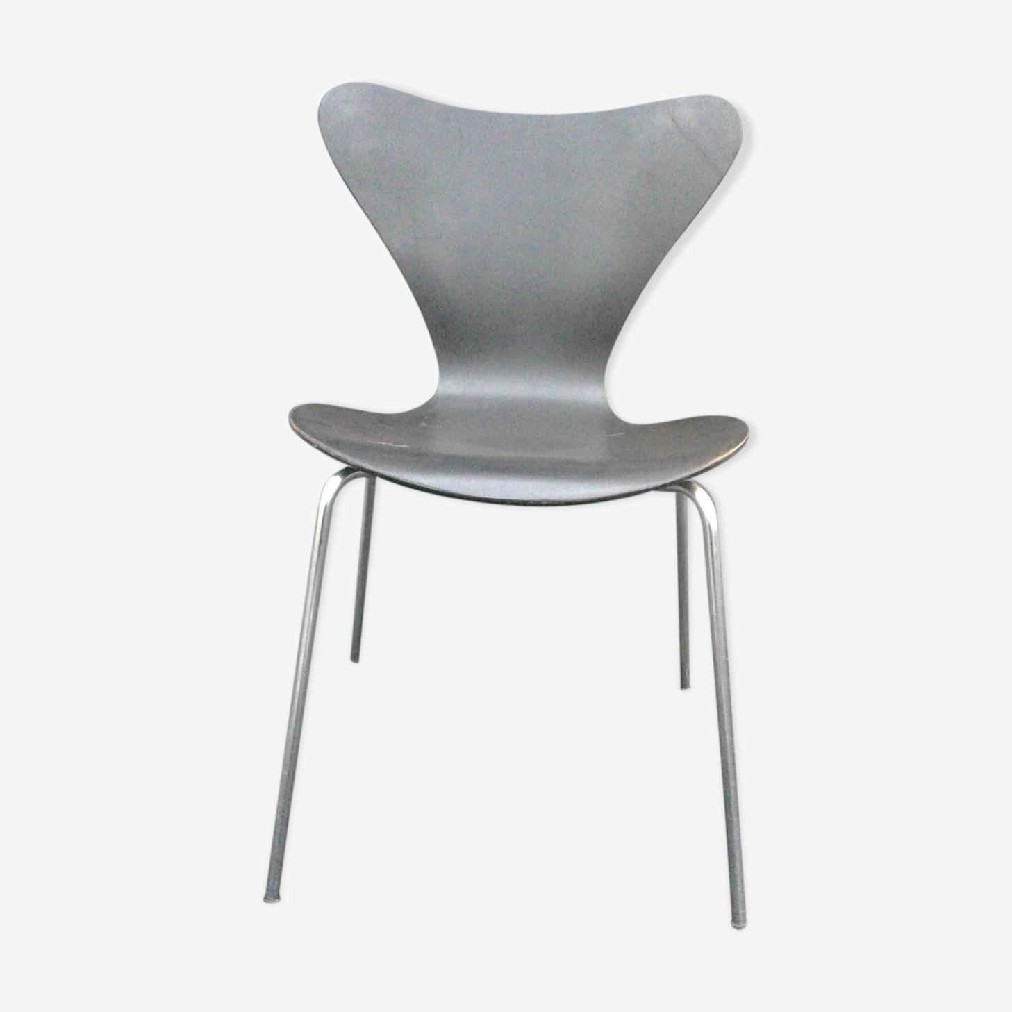 Chaise modèle 3107 série 7 par Arne Jacobsen édition Fritz Hansen, 1968