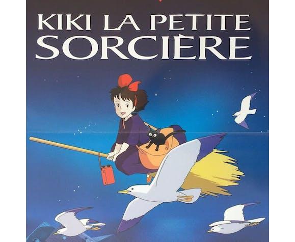 "Affiche originale ""kiki la petite sorcière"" Hayao Miyazaki studio ghibli"