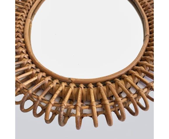 Miroir ovale Italie 1950 - 46 x 58 cm