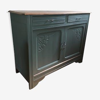 buffet de couleur verte vintage d 39 occasion. Black Bedroom Furniture Sets. Home Design Ideas