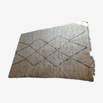 Carpet vintage Beni Ouarain 223 x 318
