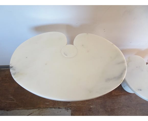 Paire de tabless Eros de Angelo Mangiarotti